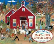 Cover art for MARY AND HER LITTLE LAMB