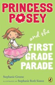 Book Cover for PRINCESS POSEY AND THE FIRST GRADE PARADE
