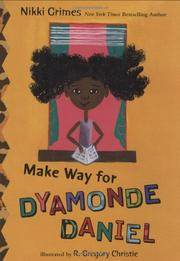 Book Cover for MAKE WAY FOR DYAMONDE DANIEL