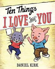 Book Cover for TEN THINGS I LOVE ABOUT YOU