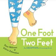 Book Cover for ONE FOOT, TWO FEET