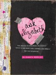 Book Cover for ASK ELIZABETH