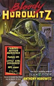 Cover art for BLOODY HOROWITZ