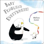 Cover art for BABY PENGUINS EVERYWHERE