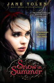 Cover art for SNOW IN SUMMER