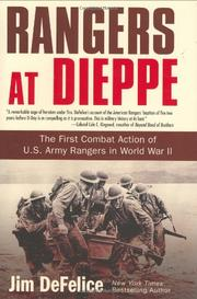 Cover art for RANGERS AT DIEPPE