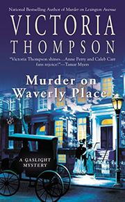 Cover art for MURDER ON WAVERLY PLACE