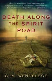 Cover art for DEATH ALONG THE SPIRIT ROAD