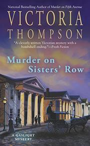 Cover art for MURDER ON SISTERS' ROW
