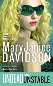 UNDEAD AND UNSTABLE by MaryJanice Davidson