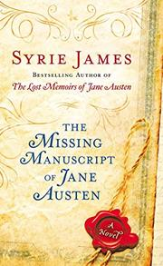 Cover art for THE MISSING MANUSCRIPT OF JANE AUSTEN