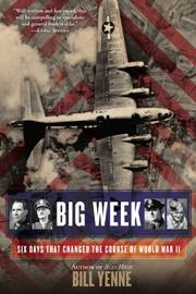 Cover art for BIG WEEK