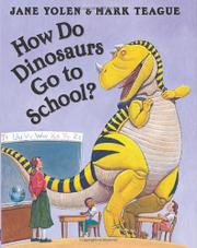Cover art for HOW DO DINOSAURS GO TO SCHOOL?