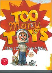 Cover art for TOO MANY TOYS