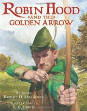 Cover art for ROBIN HOOD AND THE GOLDEN ARROW