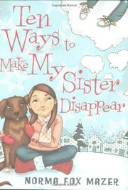 Cover art for TEN WAYS TO MAKE MY SISTER DISAPPEAR