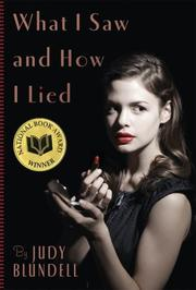 Book Cover for WHAT I SAW AND HOW I LIED