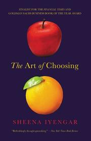 Book Cover for THE ART OF CHOOSING