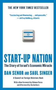 START-UP NATION by Dan Senor
