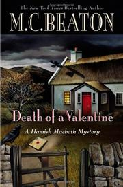 Cover art for DEATH OF A VALENTINE