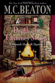 Cover art for DEATH OF A CHIMNEY SWEEP
