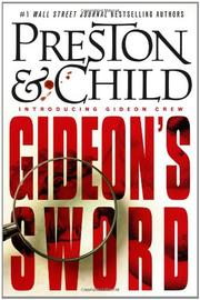 GIDEON'S SWORD by Douglas Preston