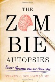 Cover art for THE ZOMBIE AUTOPSIES