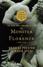 Cover art for THE MONSTER OF FLORENCE