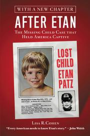 AFTER ETAN by Lisa R.  Cohen