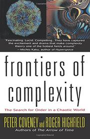Cover art for FRONTIERS OF COMPLEXITY