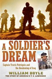 Book Cover for A SOLDIER'S DREAM