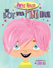 Book Cover for THE BOY WITH PINK HAIR