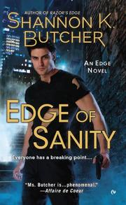 Book Cover for EDGE OF SANITY