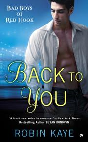 Book Cover for BACK TO YOU