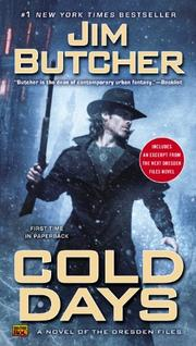 Book Cover for COLD DAYS