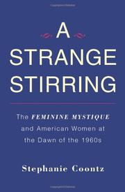 Cover art for A STRANGE STIRRING