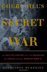 Cover art for CHURCHILL'S SECRET WAR