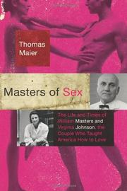 Book Cover for MASTERS OF SEX