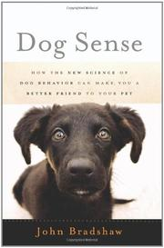 Book Cover for DOG SENSE