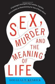 Cover art for SEX, MURDER, AND THE MEANING OF LIFE