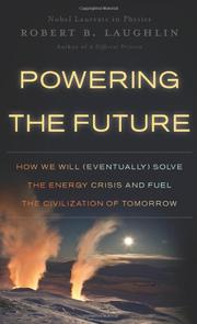 Book Cover for POWERING THE FUTURE