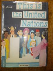 THIS IS THE UNITED NATIONS by M.  Sasek