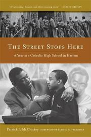 Book Cover for THE STREET STOPS HERE