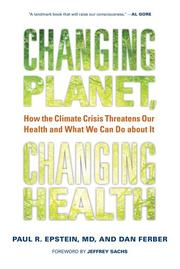Cover art for CHANGING PLANET, CHANGING HEALTH