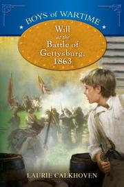 Cover art for WILL AT THE BATTLE OF GETTYSBURG, 1863