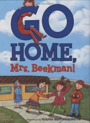 Cover art for GO HOME, MRS. BEEKMAN!