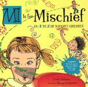 M IS FOR MISCHIEF by Linda Ashman