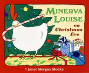 Book Cover for MINERVA LOUISE ON CHRISTMAS EVE