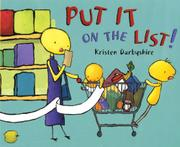 PUT IT ON THE LIST! by Kristen Darbyshire