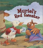 Cover art for MURIEL'S RED SWEATER